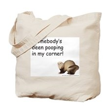 Poop in my corner - Tote Bag