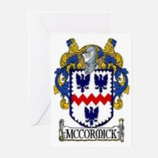 McCormick Coat of Arms Greeting Cards (Pk of 20)