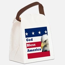 GodBlessAmerica_4in.png Canvas Lunch Bag