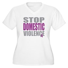 Stop Domestic Violence T-Shirt