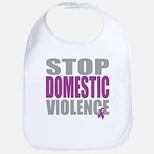 Stop Domestic Violence Bib