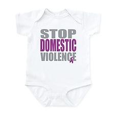 Stop Domestic Violence Infant Bodysuit