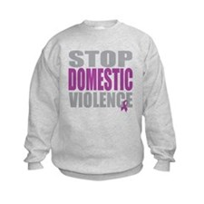 Stop Domestic Violence Sweatshirt
