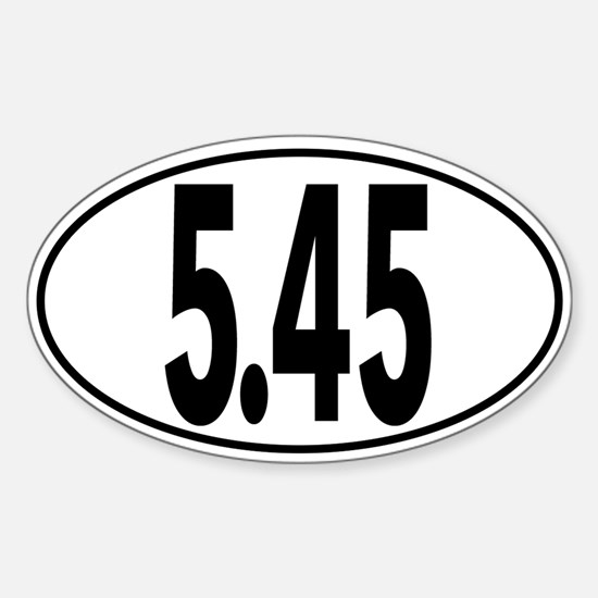 Ak 5.45 Oval Decal
