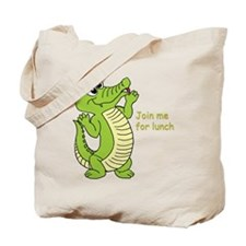 Join me for lunch Tote Bag
