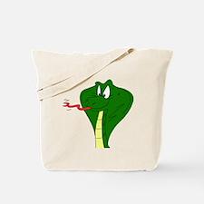 Hissing Cobra Tote Bag