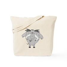 Angry elephant Tote Bag
