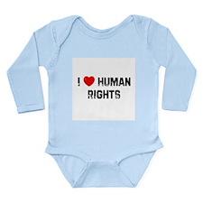 Unique Human heart Long Sleeve Infant Bodysuit