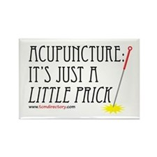 Little Prick Acupuncture Rectangle Magnet