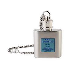 NSA Panama City Flask Necklace