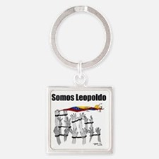 Somos Leopoldo/ Somos Venezuela Square Keychain