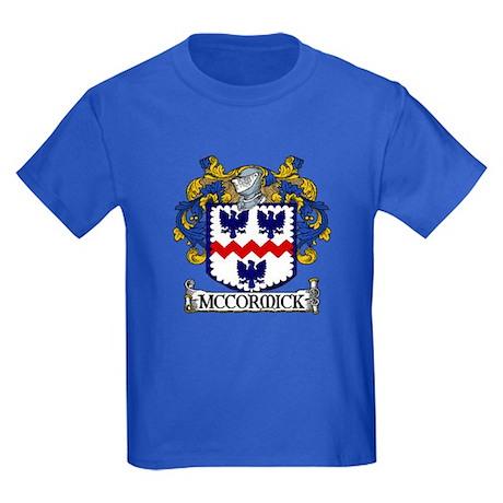 McCormick Coat of Arms Kids Dark T-Shirt