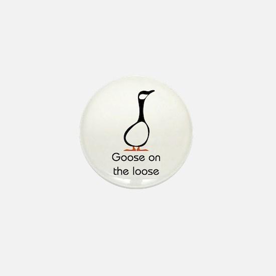 Goose Mini Button