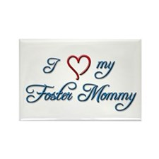 Foster Mommy Rectangle Magnet