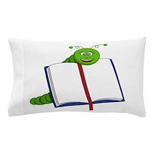 Cartoon Bookworm Pillow Case