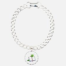 Cartoon Bookworm Bracelet