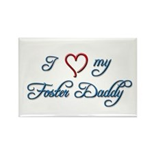 Foster Daddy Rectangle Magnet