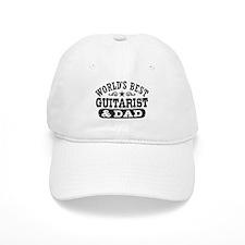 World's Best Guitarist And Dad Baseball Baseball Cap