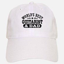 World's Best Guitarist And Dad Baseball Baseball Cap