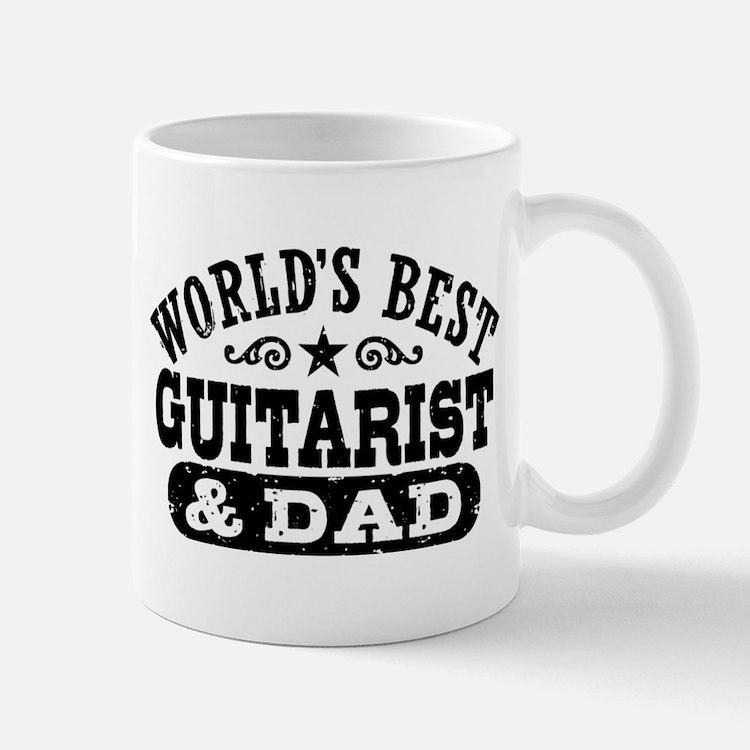 World's Best Guitarist And Dad Mug