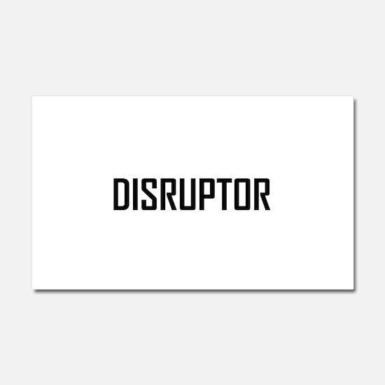 Disruptor Technology Business Car Magnet 20 x 12