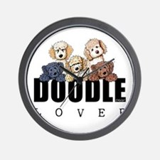Doodle Lover Wall Clock