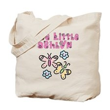 Cute Little Ashlyn Tote Bag