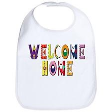 Welcome Home Bright Bib