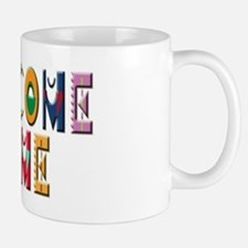 Welcome Home Bright Small Small Mug