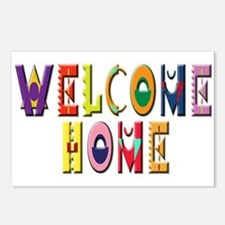 Welcome Home Bright Postcards (Package of 8)