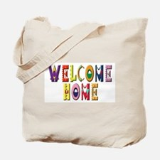 Welcome Home Bright Tote Bag