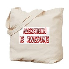 Azerbaijan is awesome Tote Bag