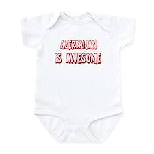 Azerbaijan is awesome Infant Bodysuit