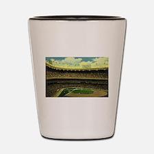 Vintage Sports Baseball Shot Glass