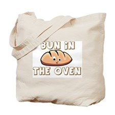 BABY - BUN IN THE OVEN Tote Bag