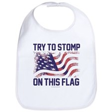 Try to Stomp On This Flag Bib