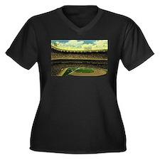 Vintage Sports Baseball Plus Size T-Shirt