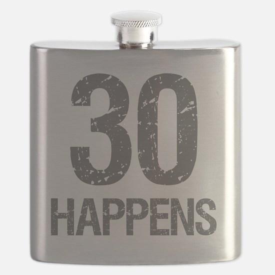 30th Birthday Humor Flask
