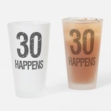 30th Birthday Humor Drinking Glass