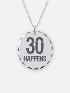 30th Birthday Humor Necklace