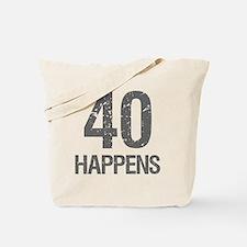 40th Birthday Humor Tote Bag