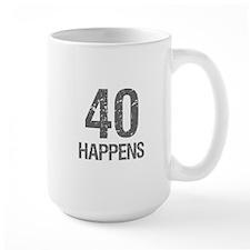 40th Birthday Humor Coffee Mug