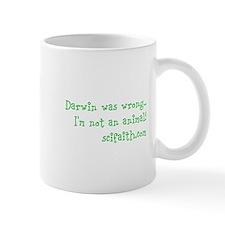 Darwin Was Wrong Url Mugs