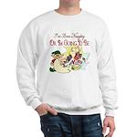 Naughty Elf & Santa Sweatshirt