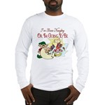 Naughty Elf & Santa Long Sleeve T-Shirt