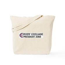 RUDY GIULIANI for President 2 Tote Bag