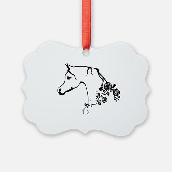 Arabian horse Ornament