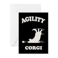 Agility Corgi Greeting Cards (Pk of 10)
