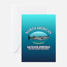 NASM (barracuda) Greeting Cards