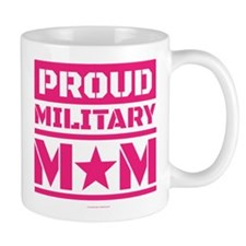 Proud Military Mom Mugs